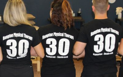 30 Reasons To Choose Hampton Physical Therapy!