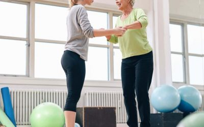 Is losing your balance normal as you age?