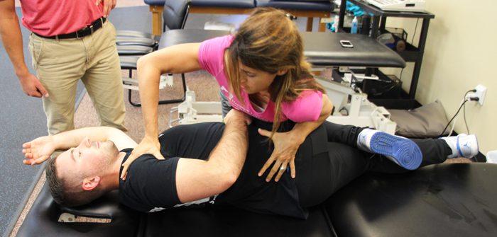 Spinal Manipulation at Hampton Physical Therapy